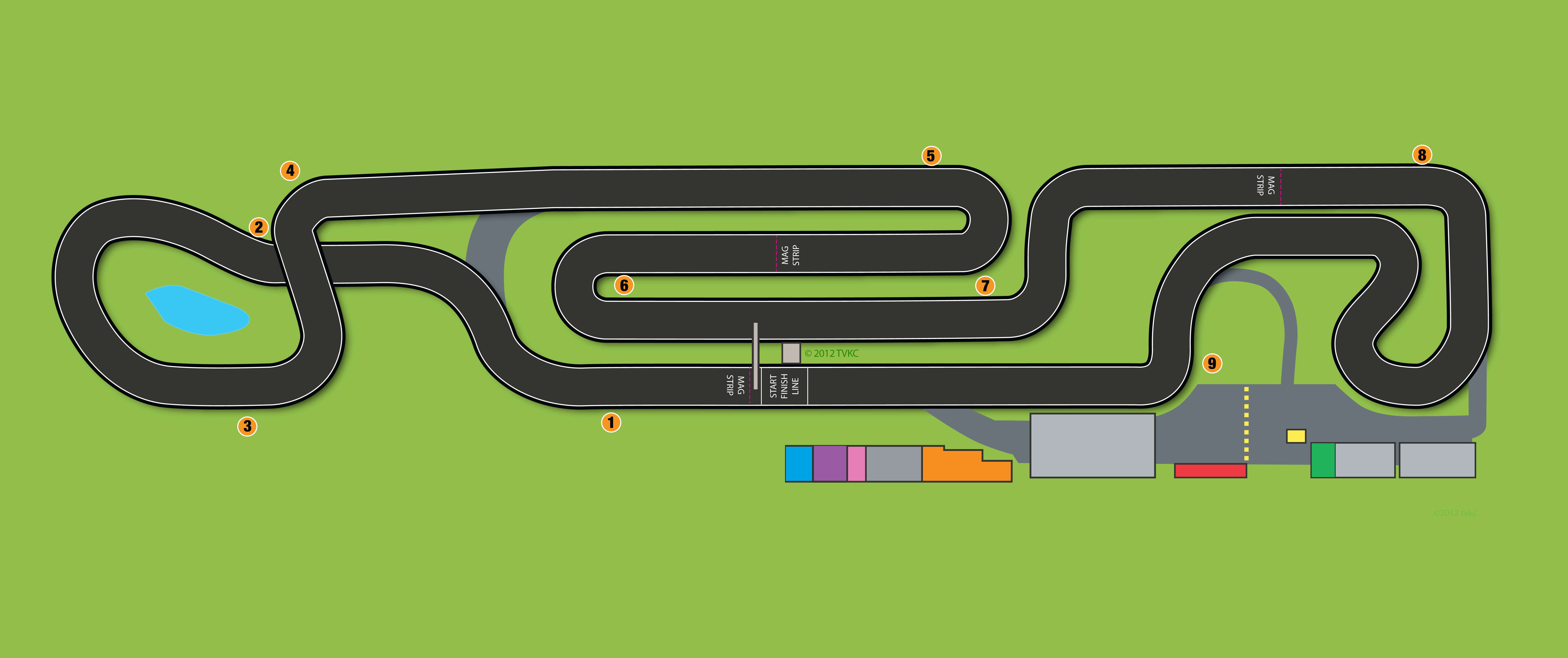 Trent Valley Kart circuit