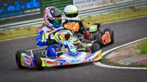 Battling to keep position at Wombwell BKC Round 8