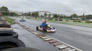 Wet weather at Wombwell BKC Round 8